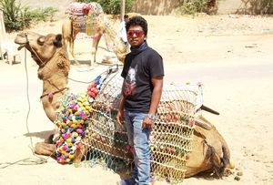 Pushed myself to PUSHKAR!!✌???????? (my first solo trip)