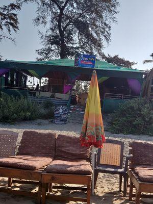 Stay at Arambol beach Rooms+Shacks #Sani_Cafe