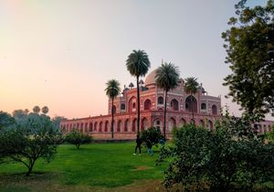 Humayun's tomb- beautiful tomb of hapless king