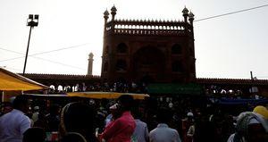 JAMA  MASJID/Mosque  (The beauty of Delhi)