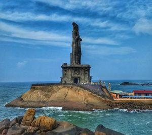 St. Thiruvalluvar's rock statue