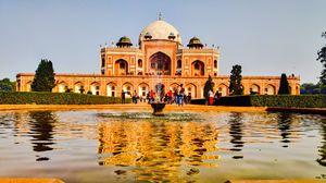 Historical Humayun tomb Delhi