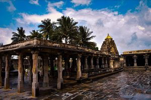 Chennakeshava Temple ,Belur.   Remarkable for its architecture, sculptures, reliefs, friezes as well
