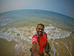 Oceanholic...!!  #SelfieWithAView #TripotoCommunity