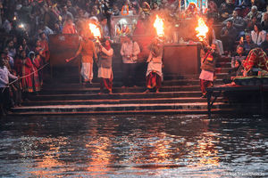 Witnessing The Ganga Arti in Haridwar
