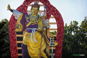A Walk around the Buddha Temple, Dehradun