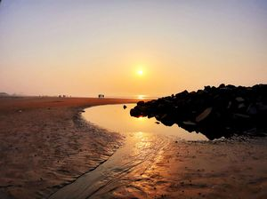 #Escape_Route - Sunrise at Sea Beach: Bay of Bengal
