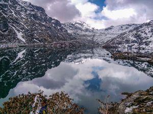 Changu Lake and Baba Mandir : Gem of Sikkim #tenphotos #photosofsnow