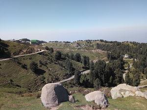 Scenic Beauty from Dainkund Peak, Dalhousie