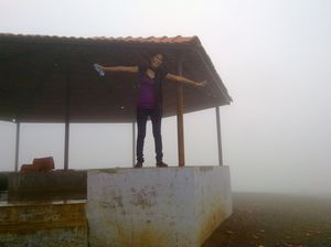 Saputara Hill station..Soaked by the Drizzle and drizzled happiness in the drizzling misty climate!!
