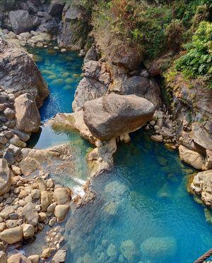 Hidden blue waters of North East #northeastphotos