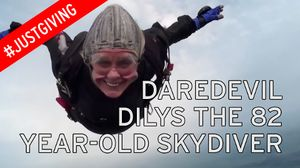 82-year-old lady skydiver – Age is just a number!!