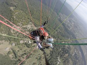 "Paragliding in Bir Billing - Explored The Unexplored - Up above the world so ""High"""