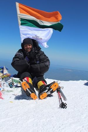 Amputee Mountaineer Sets a World Record Again By Climbing Mount Aconcagua in Argentina!