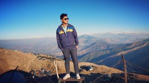 Prashar Lake #viewfromthetop