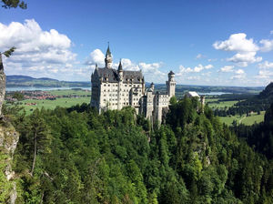 My First Motorcycle Ride in Germany to schloss Neuschwanstein – The Fairytale Castle