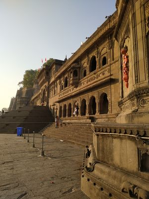 Maheshwar - a city must to visit once. Beautiful architecture of fort on the bank of river narmada.