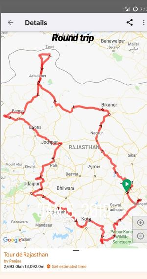 Roadtrip to offbeat places of Rajasthan