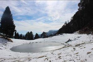 best place for Snow trek Rajgundha Valley.