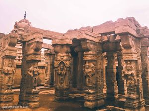 The Architectural wonders of Lepakshi