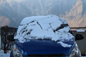 """When whole world shivering... we are mountains lover.... travel to Auli and Chopta, min temp -8""""c"""