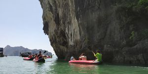 Phi-phi, James bond and hot water springs krabi