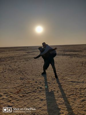 Its time to spend beautiful sunset over the white land of Kutch.