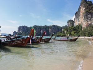 Krabi – Haven for island-hopping along with rocky limestones
