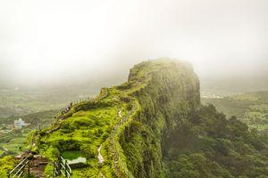 A monsoon trek to Lohagad fort #monsoontreks