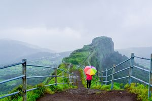 A monsoon trek to Lohagad fort #monsoontreks #maharashtratreks