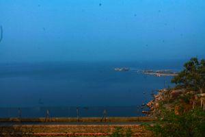 Osmansagar lake.