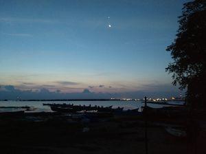 Morning bliss of tuticorin beach and beach road
