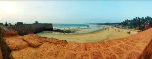 Fort Aguada in north Goa.