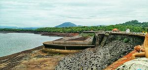 Salaulim Dam Sanguem Goa.