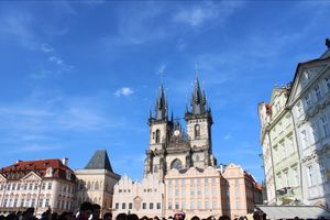 Fall in love with prague