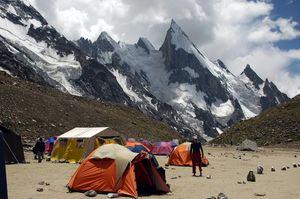 K2-Concordia Base Camp