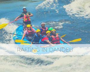 Rafting through the Whitewaters of Dandeli...!