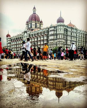 A Rainy day in mumbai