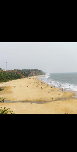Varkala..Beach down the cliff; Heavenly cafes;a hidden paradise in Kerala