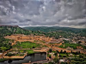 Mighty Amer fort.
