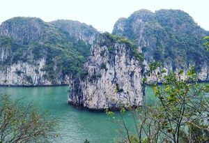 Enchanting Halong Bay, Vietnam.