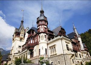The famous Peles Castle & Dracula's Castle in Romania.
