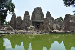 The only Nagara style Monolith in North India: Masrur