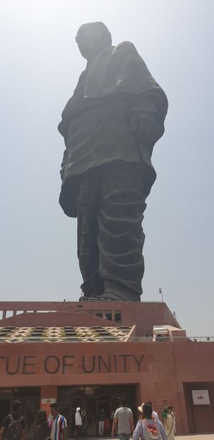 World's Tallest Statue - Statue of Unity
