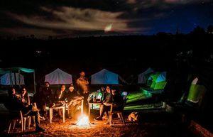 Night Camping Near Pune - Sunset Pawna