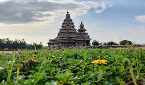 Master piece in the shore of Bay of Bengal. Its a Shore temple in Mahabalipuram.
