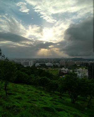 Pune city.
