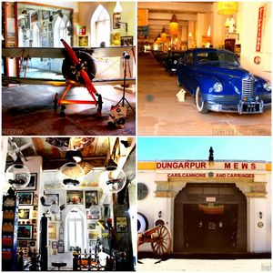 THE ONLY VINTAGE SPORT BAR IN THE WORLD - cars, cannon and carriages. #offbeatgetaway