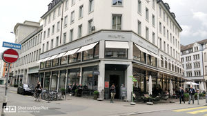 WORLD'S OLDEST VEGETARIAN RESTAURANT : HILTL, ZURICH.