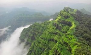 Highest Peak Of Maharashtra [ 5400 ft ]